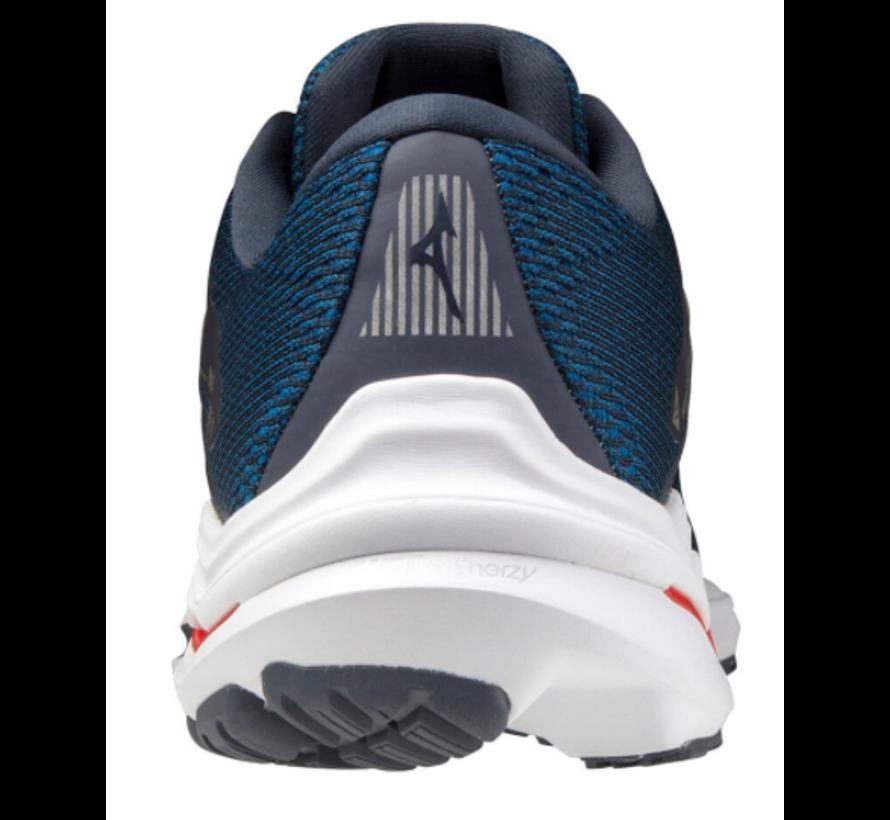 Mizuno Wave Inspire 17 blauw hardloopschoenen heren