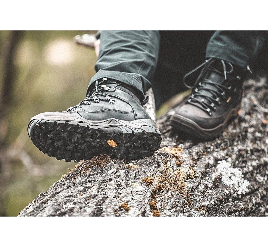 Grisport Brenta Mid zwart wandelschoenen uni