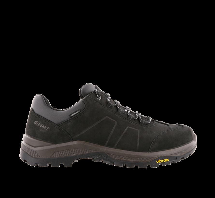 Grisport Utah Low zwart wandelschoenen uni