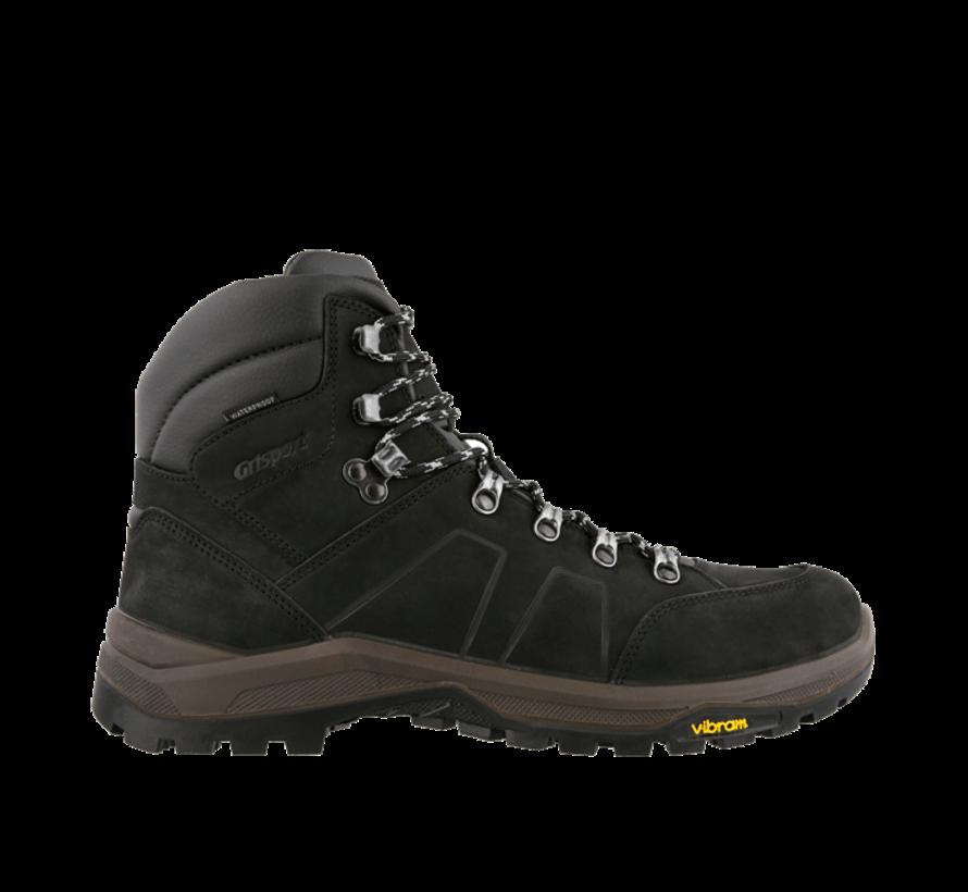 Grisport Utah Mid zwart wandelschoenen uni