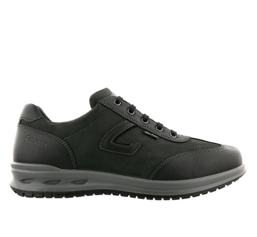Grisport 43011-134 zwart wandelschoenen heren
