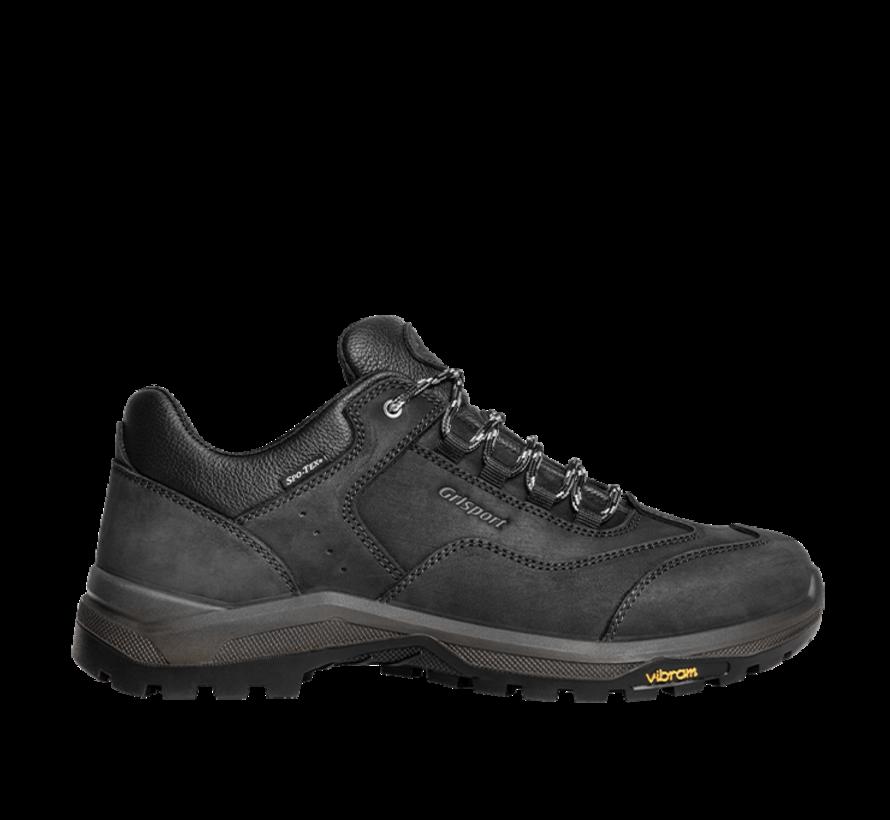 Grisport Walker Low zwart wandelschoenen uni