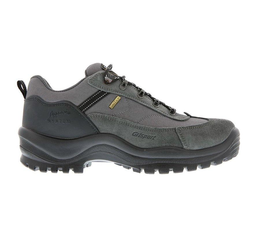 Grisport Torino Low grijs wandelschoenen uni