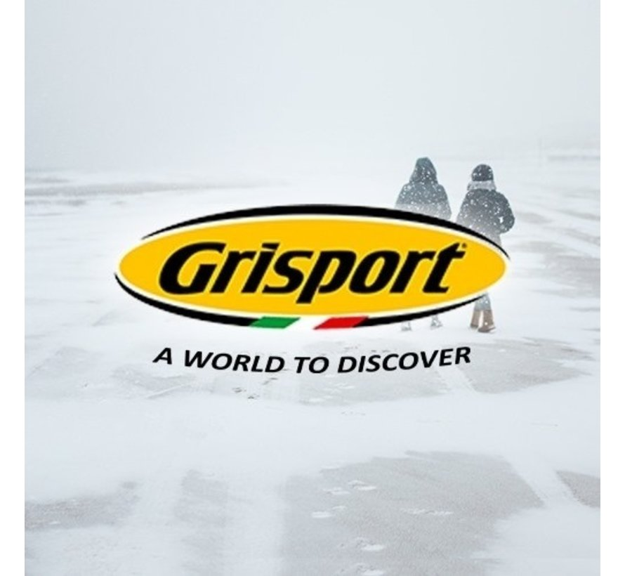 Grisport 44001-02 antraciet wandelschoenen heren (s)