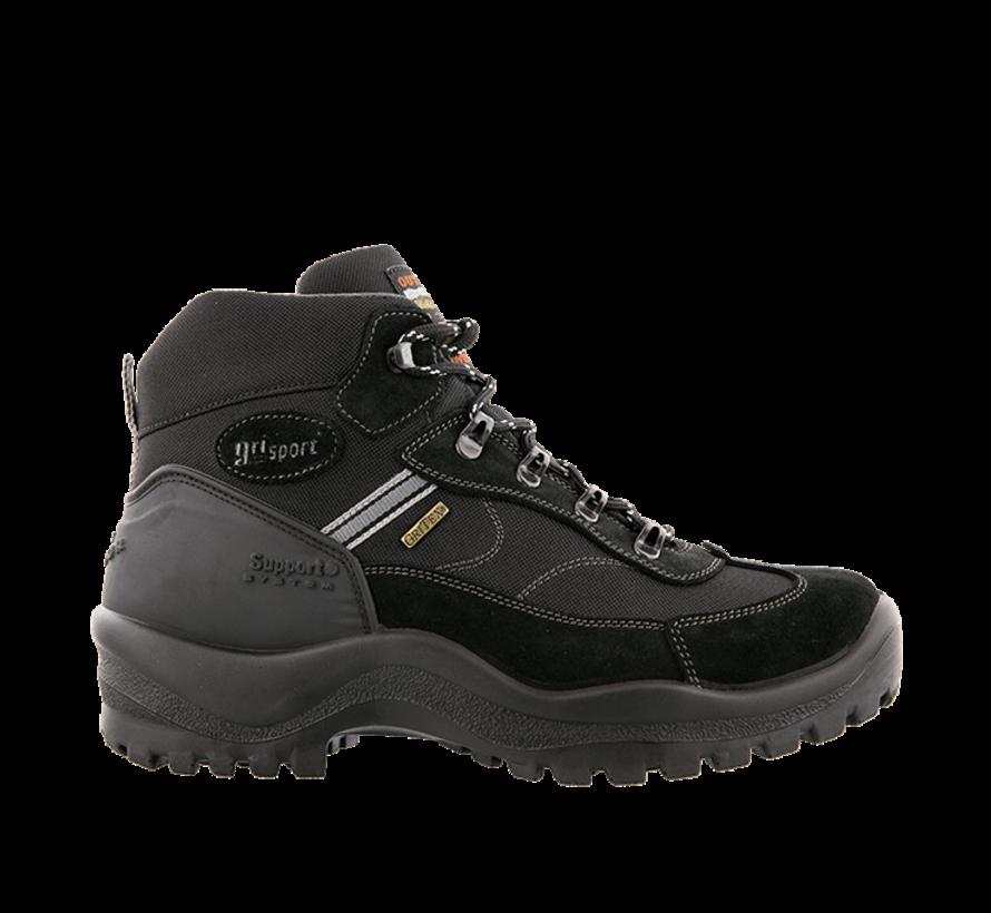 Grisport Torino Mid zwart wandelschoenen uni (s)