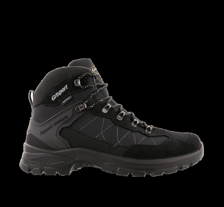 Grisport Scout Mid zwart wandelschoenen uni
