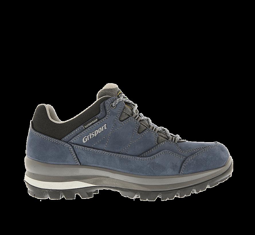 Grisport Bari Low blauw wandelschoenen dames