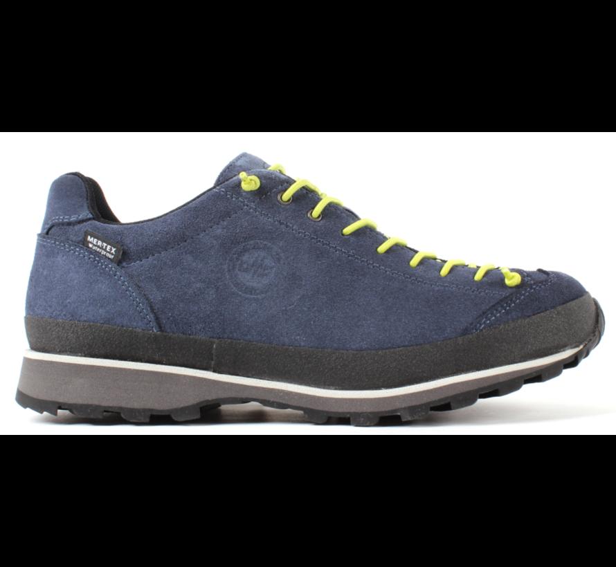 Lomer Bio Naturale MTX low blauw wandelschoenen uni