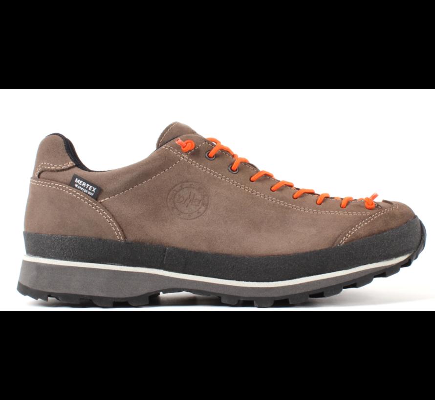 Lomer Bio Naturale MTX low bruin oranje wandelschoenen uni