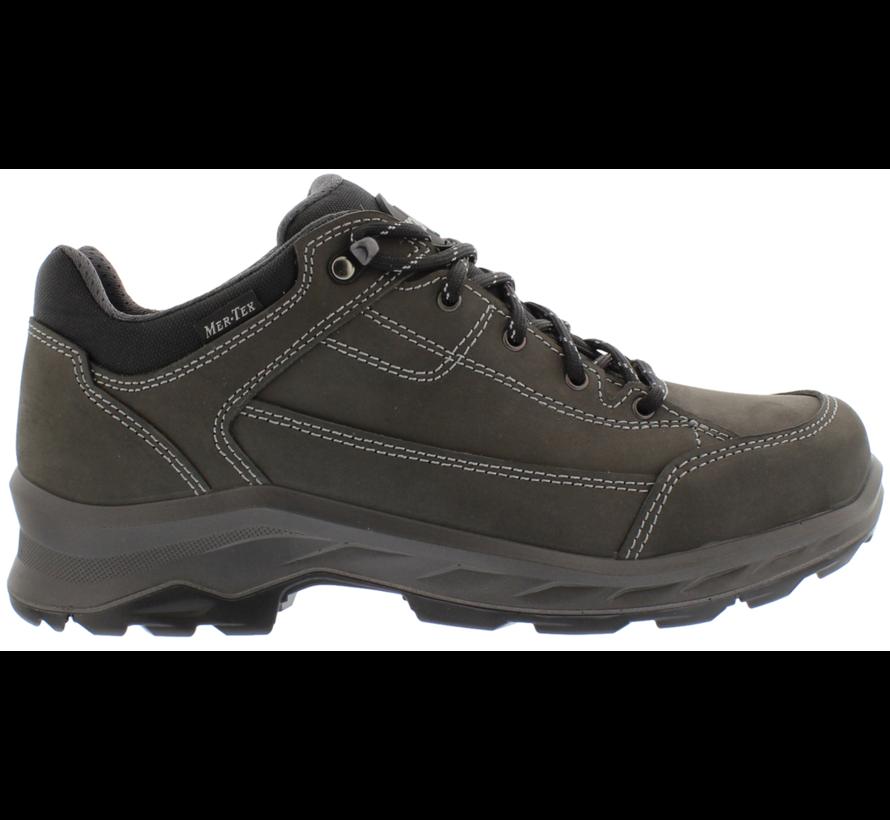 Lomer Sesto Nubuck MTX low grijs wandelschoenen uni