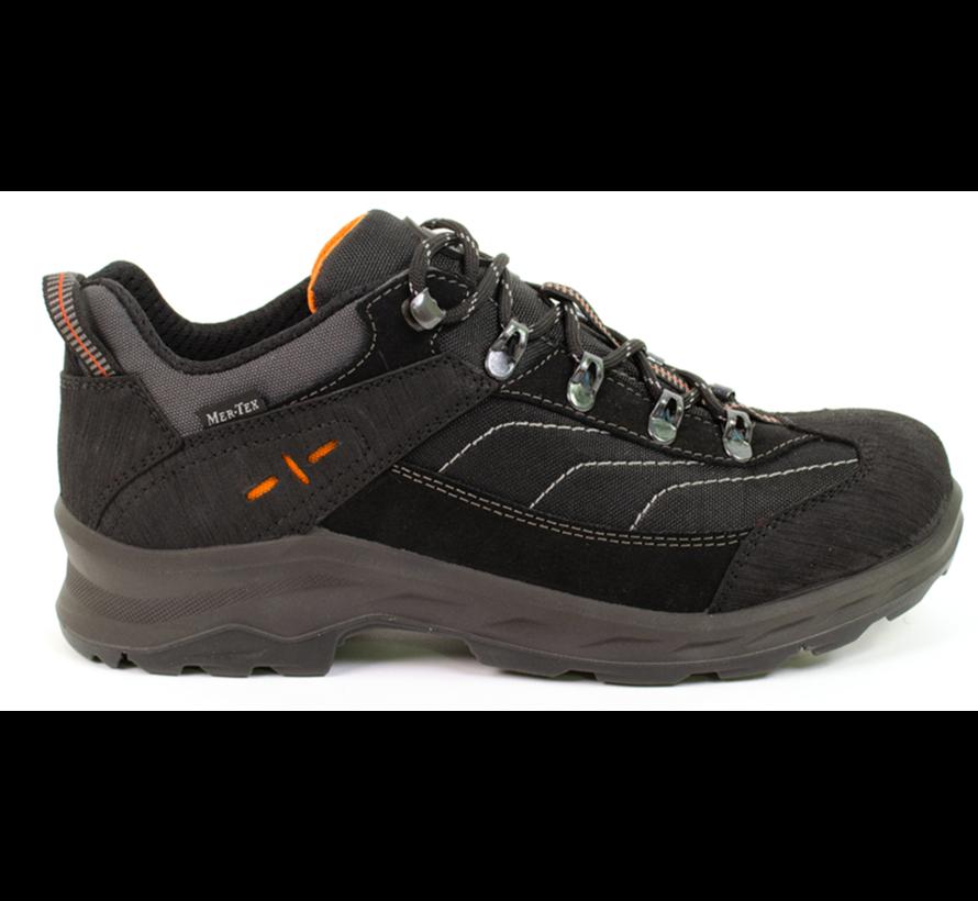 Sesto  MTX low zwart wandelschoenen uni