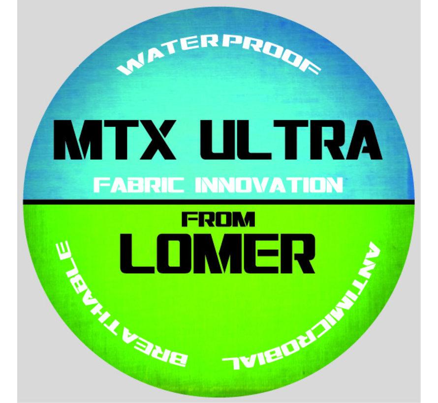 Lomer Spider Ultra MTX groen geel wandelschoenen uni