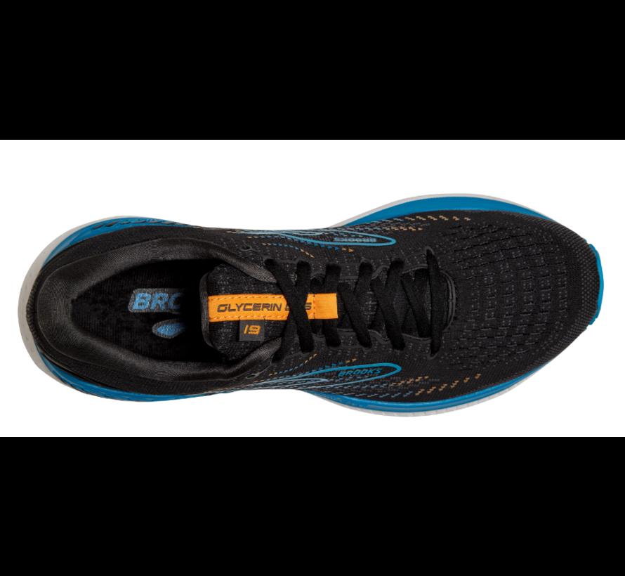 Brooks Glycerin GTS 19 zwart hardloopschoenen heren