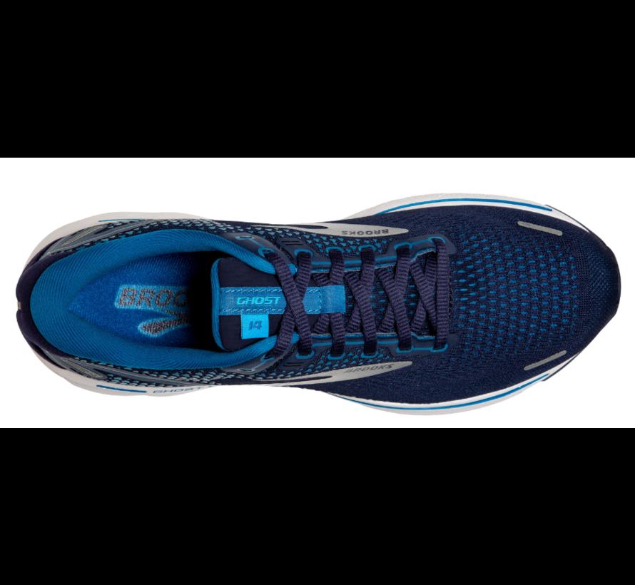 Brooks Ghost 14 blauw hardloopschoenen heren