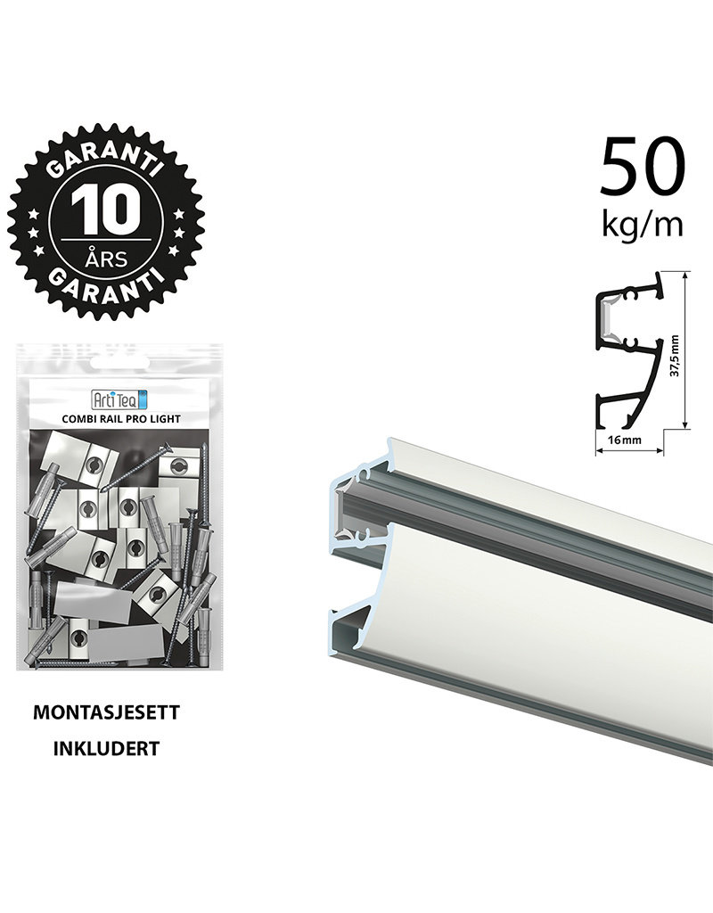 Combi Rail Pro Light - Skinne