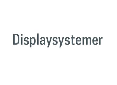 Displaysystemer