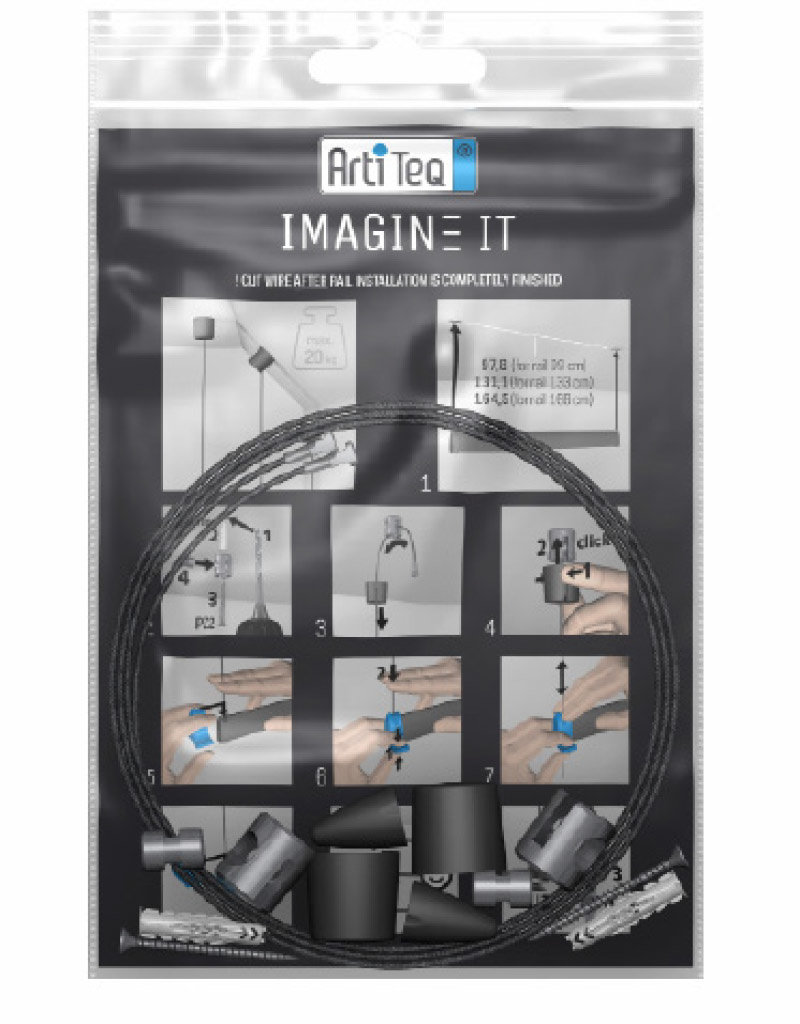 Artiteq Imagine It - Montasjesett