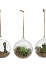 Artiteq Hengende kuler med plante