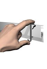 Artiteq Clip Hanger Info Rail
