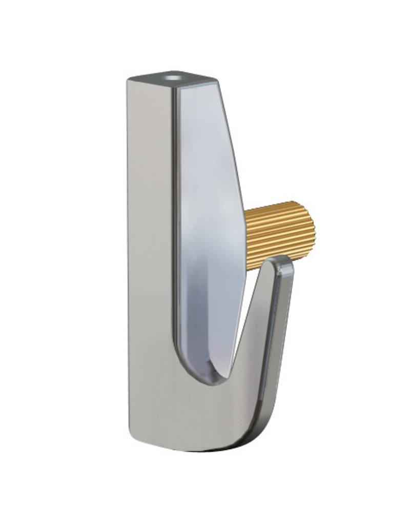 Artiteq Opphengskrok Tung Messing 7kg 2mm