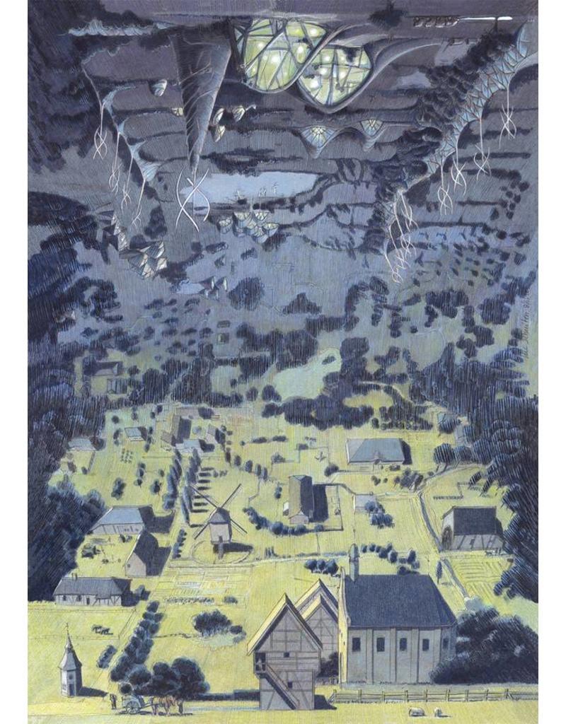 Gesigneerde poster Luc Schuiten