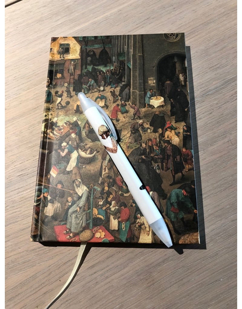 Set Notitieboekje en Pen Bruegel