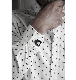 BKRK button Hug Zwart