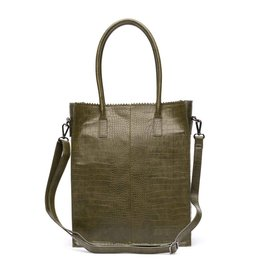 Zebra Natural bag Croco ROSA - Army