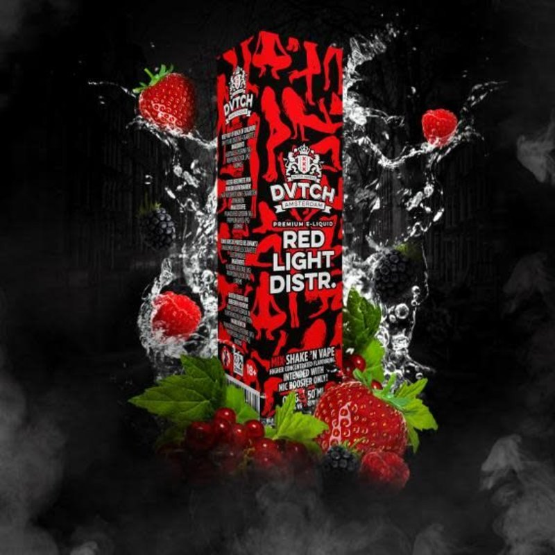 DVTCH Red Light District - 50ml - 0mg
