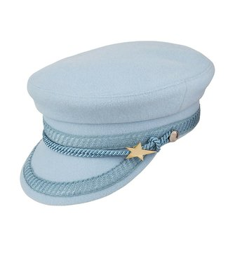 FABIENNE CHAPOT HAT CAP LIGHT BLUE