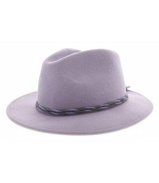 Brixton Brixton hoed, lavendel, CORBET FEDORA