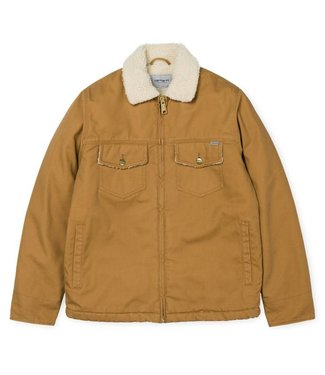 Carhartt Carhart miles jacket cotton 'dearborn' canvas, 12 oz Hamilton Brown