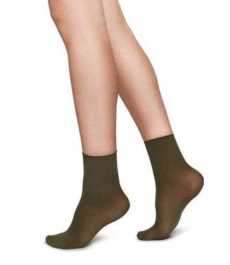 Swedish Stockings Swedish Stockings, Judith 2-PACK Creme - Khaki 30 DEN