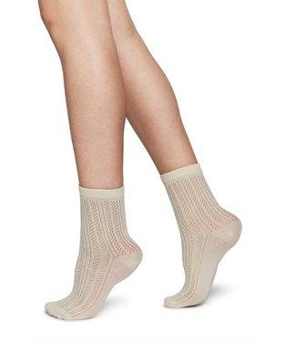 Swedish Stockings Swedish Stockings, Klara Ankle Sock, Ivory