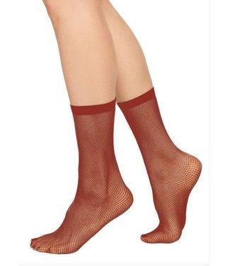 Swedish Stockings, Liv sock net, Red