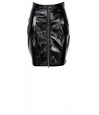 LA Sisters LA Sisters, Patent Leather Skirt