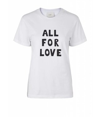Just Female Just Female All For Love Shirt 11091