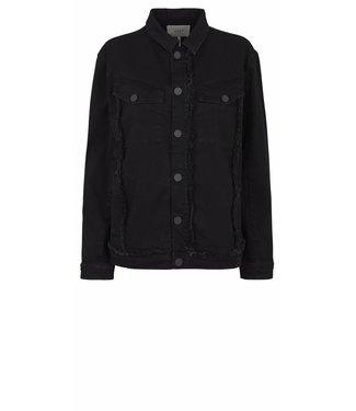 Just Female Just Female Hiroki Rip Jacket, Black