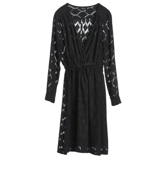 Ottod'ame Ottod'ame Abito, DRESS CLO-DA3034, BLACK