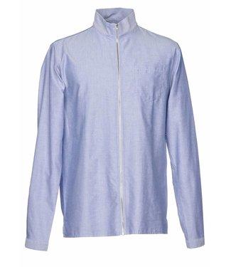 On Tour ONTOUR, Fix/SW17-6B, Man shirt LM -10901.03322- BLUE ICE