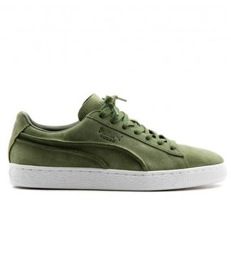 Puma Puma, suede classic Exposed seams, Olive