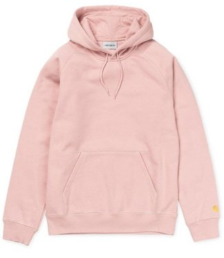 Carhartt Carhartt, Hooded Chase Sweat, Soft Rose/Gold