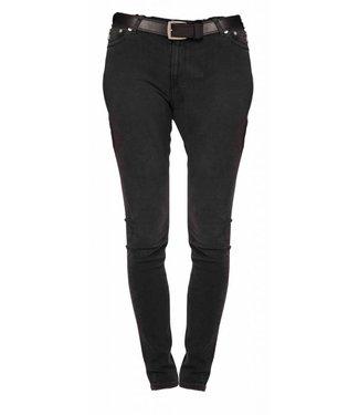 Mud Jeans Mud-Jeans, Skinny Hazen, Stone Black
