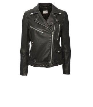 Norr Norr, Sabine Leather Jacket, Black