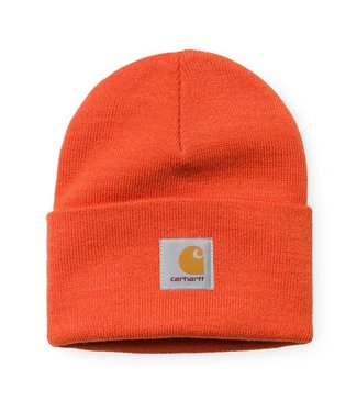 Carhartt Carhartt Acrylic Watch Hat Persimmon