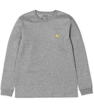 Carhartt Carhartt L/S Chase shirt grey/gold