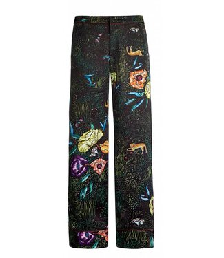 10 Feet 10 Feet, Pyjama-Inspired Pant, Black
