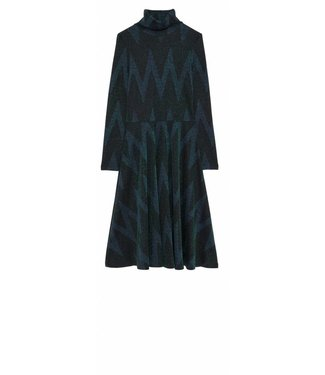 Ottod'ame Ottod'ame, DZA-DA323 Dress, Blue