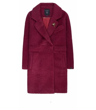 10 Feet 10 Feet, Tailored Coat, Beetroot