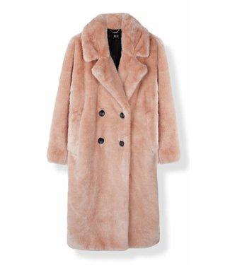 Alix Alix Fake Fur Coat Soft Nude